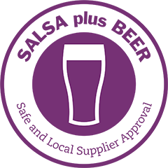 SALSA plus BEER Safe and Local Supplier Approval